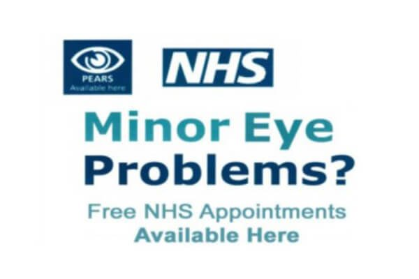 MECS minor eye care problem scheme