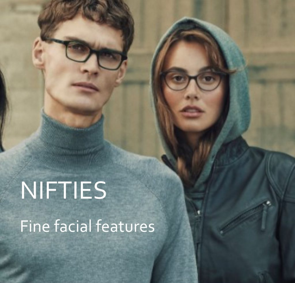 Nifties comfortable specs with male and female models