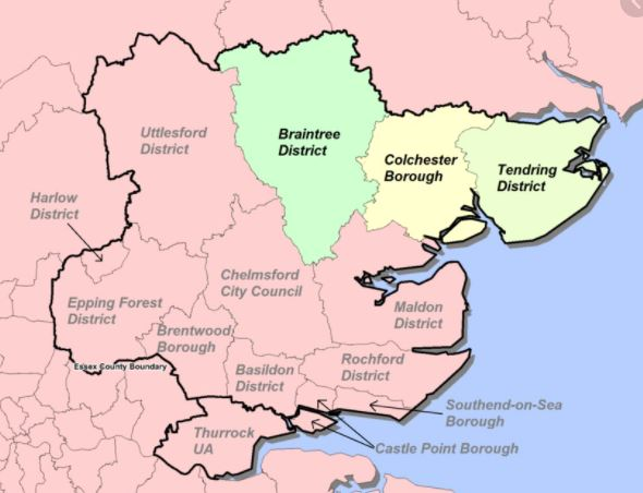 Read more about the article Optician, what areas in Essex and surrounding areas do we cover ?