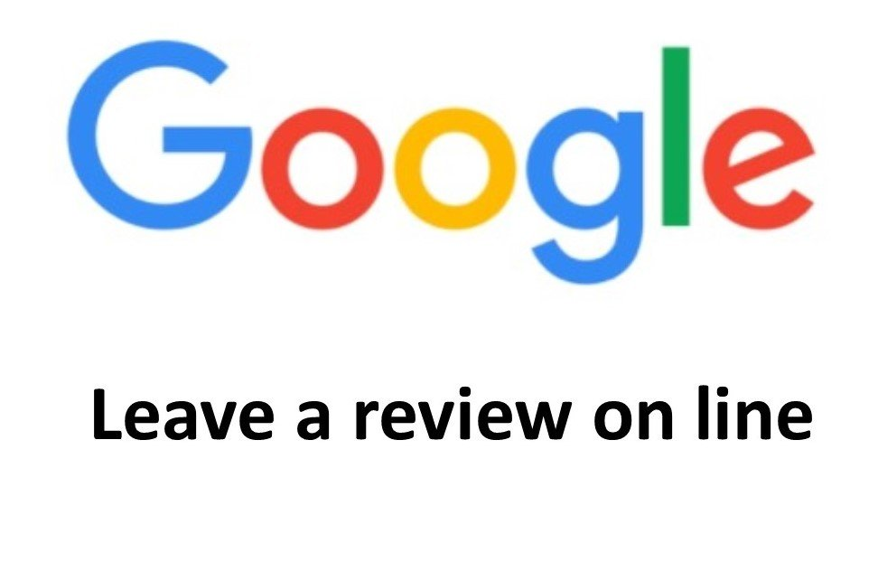 Google logo and review details
