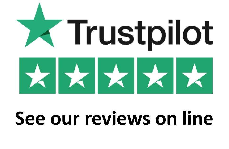 trustpilot logo showing reviews